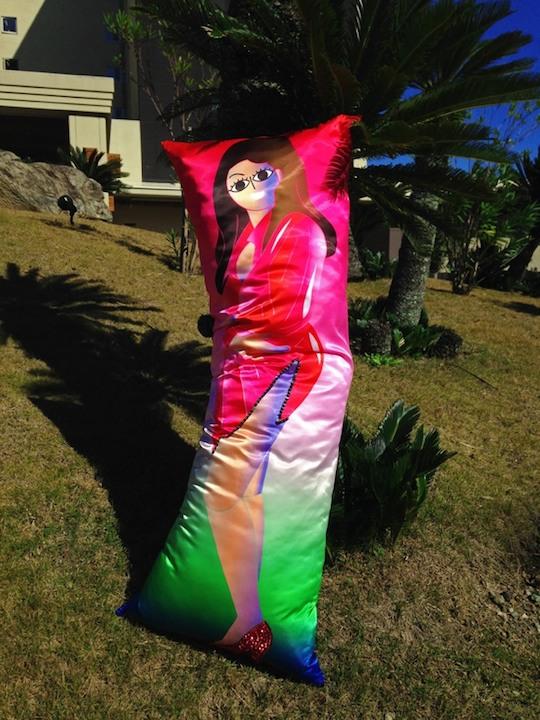 lee kan kyo dakimakura hug pillow dutch wife idol art
