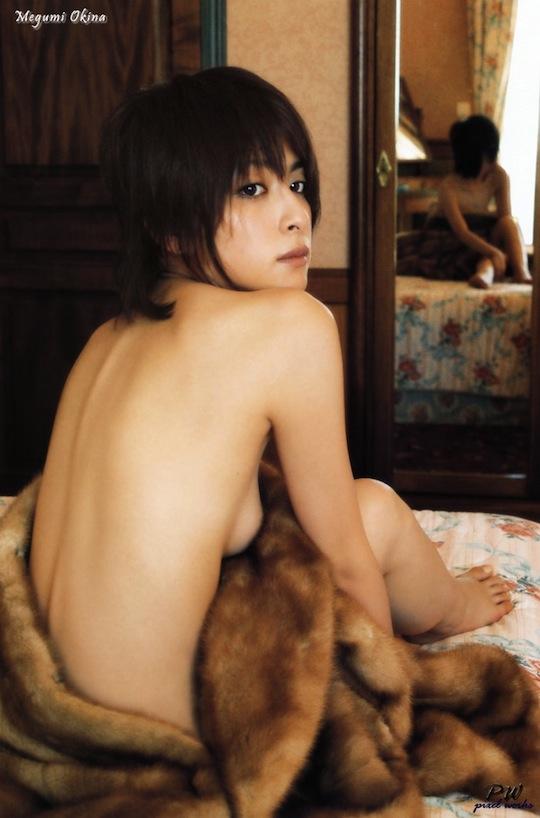 megumi okina actress japanese man-eater scandal adultery affair manabu oshio ryo kimura takumi saito sex furin