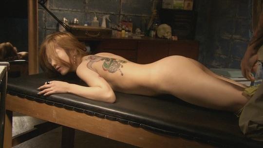 yuriko yoshitaka snakes and earrings hebi ni piasu sex scene nude hot