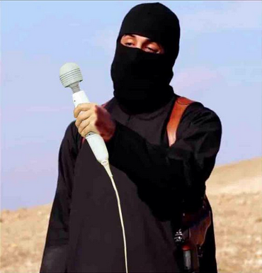 islamic state japanese hostage threat execute internet meme spoof anime moe #ISISクソコラグランプリ fairy massager vibrator
