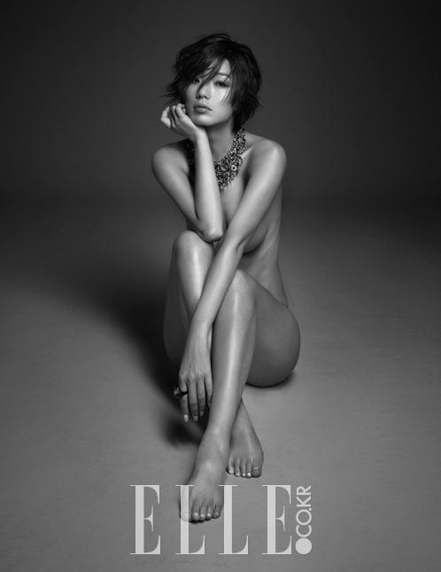 ahn young-mi korean comedian hot body elle