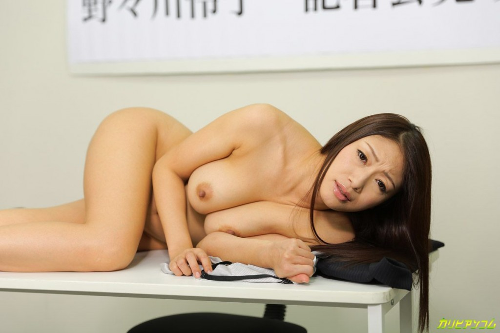 ryutaro nonomura politician press conference parody porn reiko kobayakawa