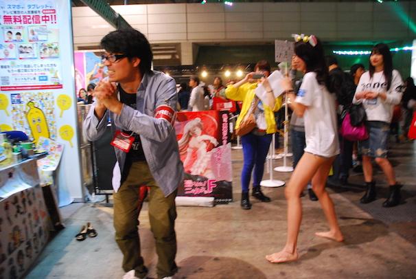 hitomi nogata niconico chokaigi kickboxer model kick butt ass fetish hot japanese girl femdom