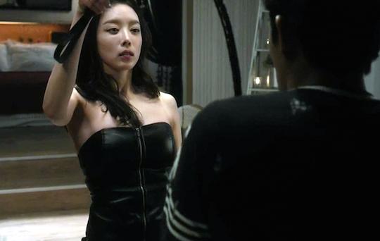 Korean actress Ha Joo-hee nude in Love Clinic explicit sex