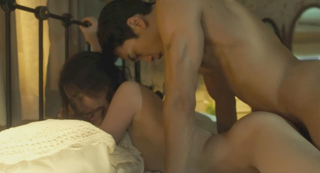 Doesn't nude couples sex in bed scene seems