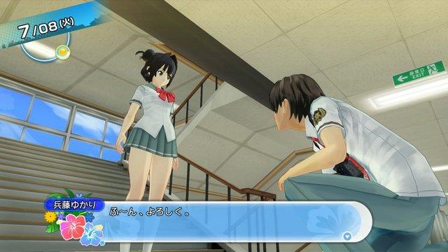 natsuiro haisukuru seishun hakusho video game ps3 ps4 panties panchira fetish grand theft patsu japanese adult