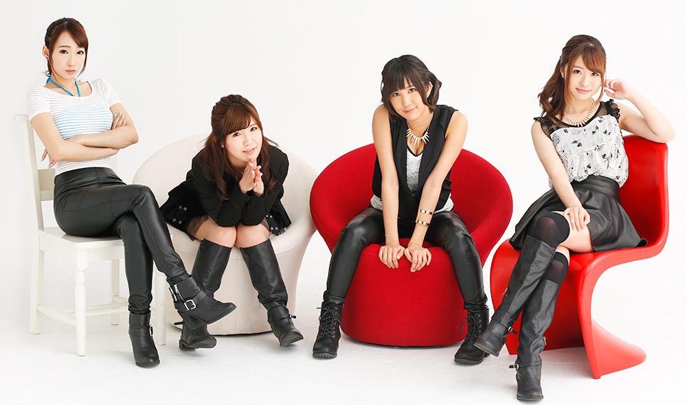 kuhn japanese porn star music unit group idol Saki Hatsumi Kurea Hasumi Riki Minato Saki Mizumi