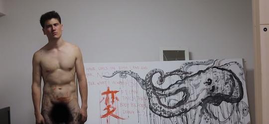 tatsuya yamasaki hentai artwork penis painting picture artist