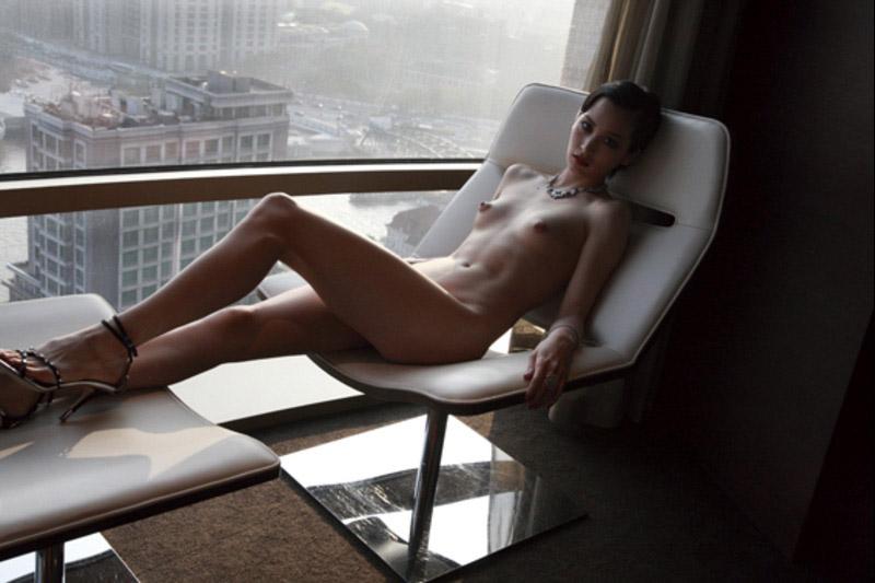 Eimi Kuroda, en Haafu-skønhed i hele hendes nakne herlighed Tokyo-9908