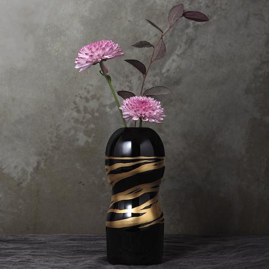 lacquer urushi onacup premium tenga flower vase