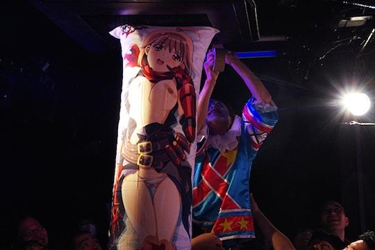 dakimakura kisai hug body pillow otaku milktub concert gig rock music japan tokyo