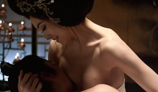 Λεσβιακό σεξ σκηνή