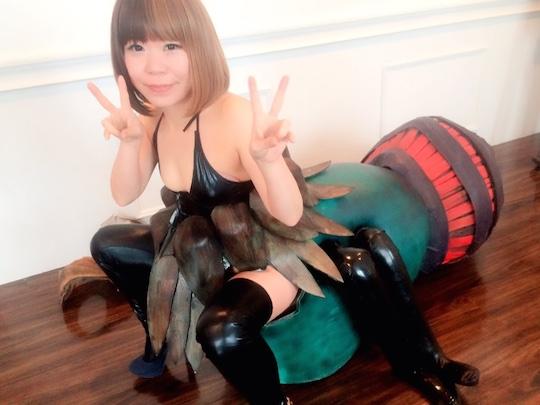 tokyo fetish festival kumo-onna spider girl costume cosplay