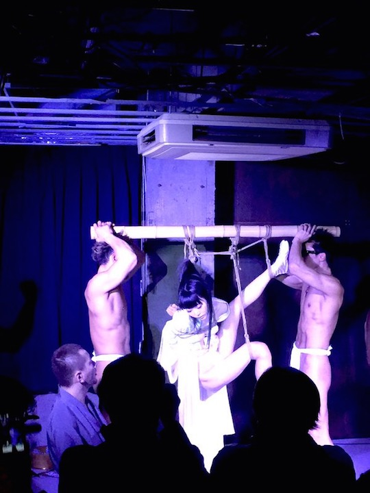 rope bondage shibari japan tokyo fetish festival event