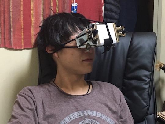 japan tokyo akihabara adult virtual reality event festa