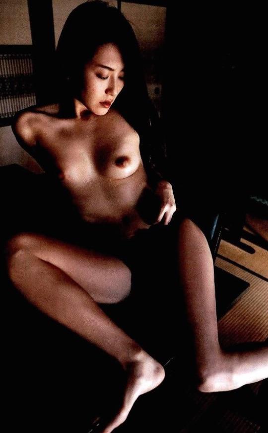 haruna yabuki naked nude kishin shinoyama photo book