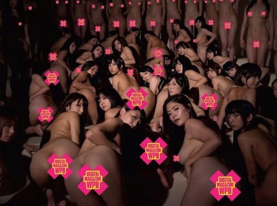weekly playboy 50th anniversary photo shoot naked japanese porn star av