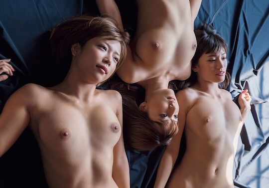 shoko takasaki momona kitou shoko takahashi yua mikami nude naked