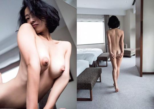 hiroko sato japanese gravure full frontal actress nude jukujo naked