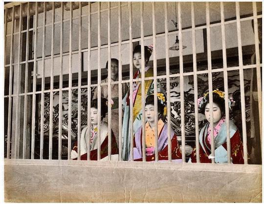 yoshiwara entrance tokyo old historical edo red light district prostitution map