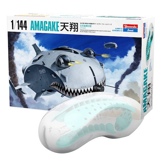 japan parody unusual sex adult toy onahole masturbator battleship airship model