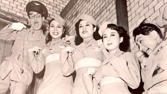 tony tani strippers 1950s postwar japan