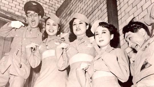 tony tani strippers 1950s postwar japan