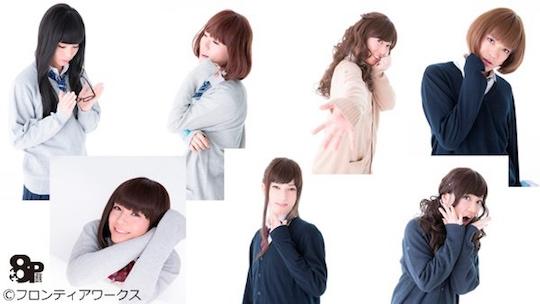 8p eight piece boy band japan josou crossdresser schoolgirl
