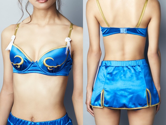 chun-li cammy japan street fighter cosplay underwear lingerie