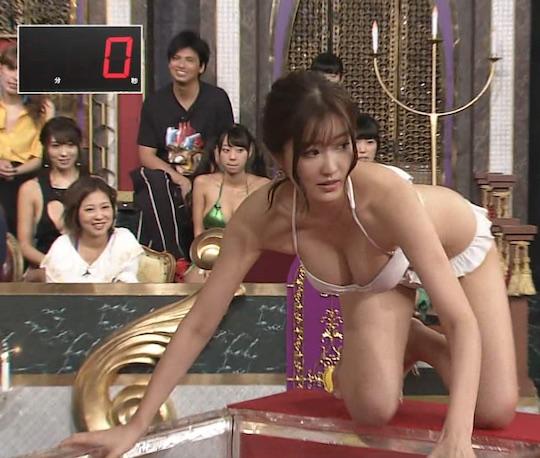 mai hakase gravure idol body bust breasts nipslip