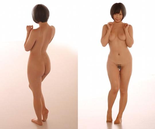 naked Mana Sakura