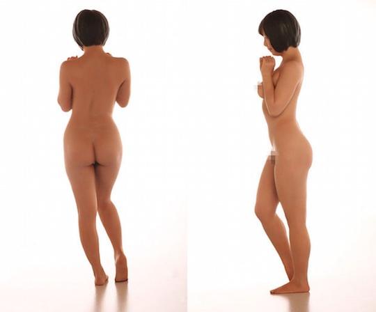 mana sakura japanese porn star idol naked figure