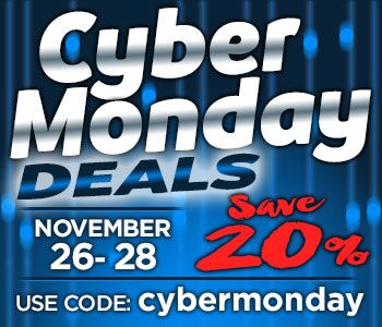 cyber monday sale banner 2017