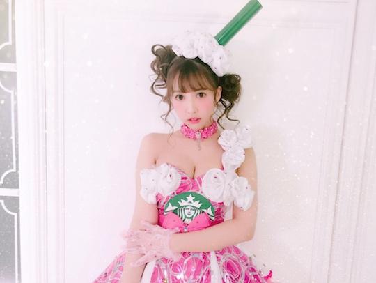 yua mikami sexy halloween costume cosplay