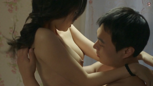 Lee Ye-eun Son Ga-Ram naked nude sex scene Delicious Delivery (2015) South Korean movie film