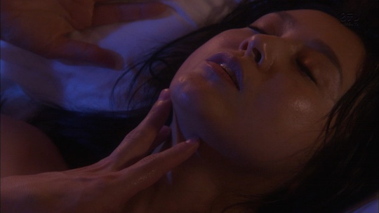 Norika Fujiwara Japanese television drama Nemurenu Shinju sleepless pearl nureba sex scene topless nude naked
