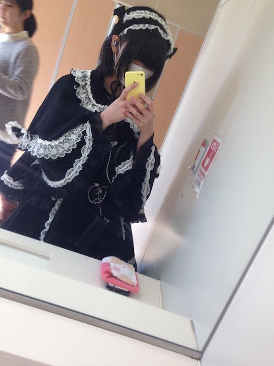 japanese cosplay fashion lolita gothic exam student test