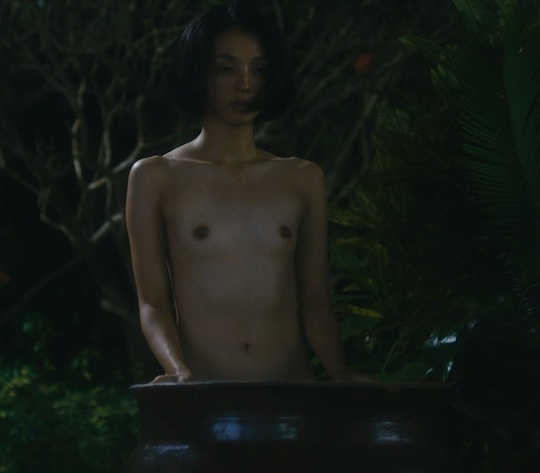 hikari mitsushima nude naked sex scene movie film japanese actress umibe no sei to shi life and death on the shore