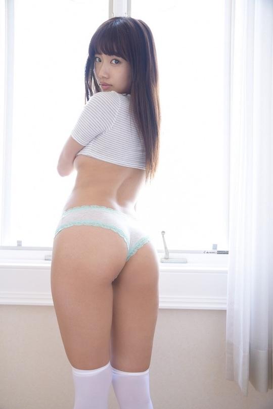 anna tamechika butt sexy gravure japanese