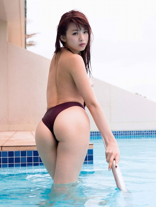 aya hayase amazing butt sexy body japanese model gravure