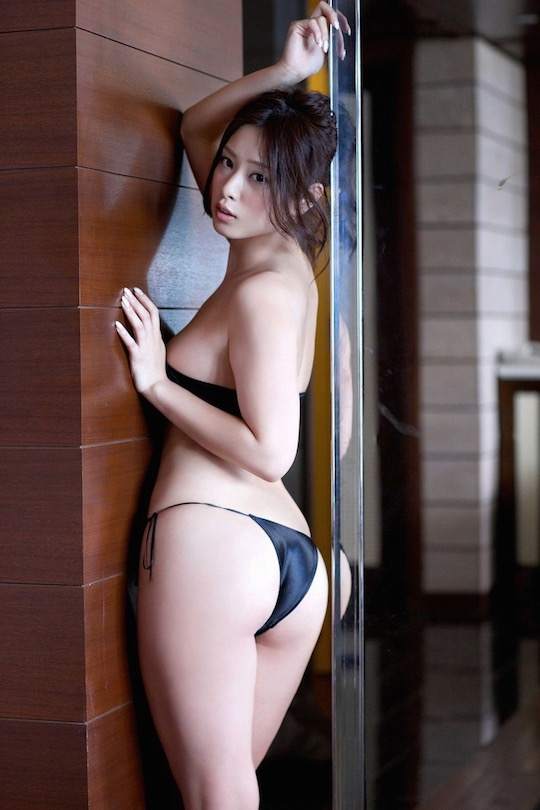 ayaka noda butt sexy gravure japanese idol model hot nude