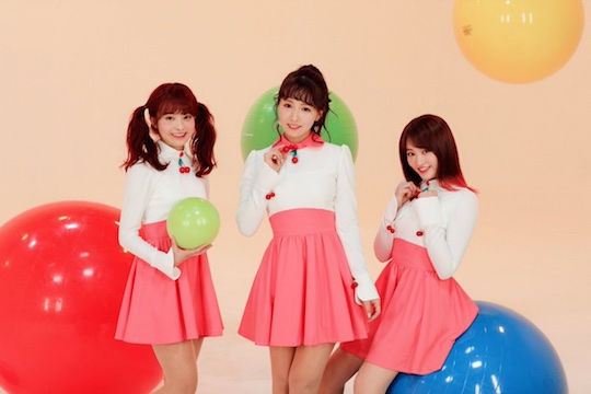 honey popcorn k-pop group music yua mikami risako okada miko matsuda yu ito moko sakura momona kito debut release adult video porn stars