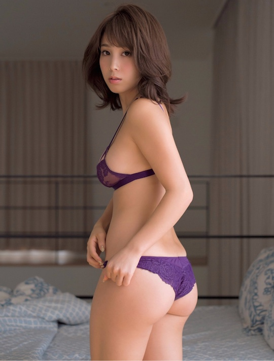minori inudo butt body model japanese sexy hot