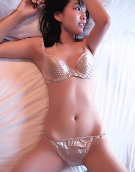 rena kato akb48 sexy debut naked nude photo book dareka shiwaza hot picture