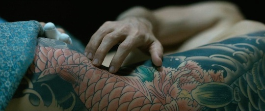 the outsider netflix movie sex scene nude naked shioli kutsuna shiori