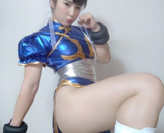 Kirshner chun-li cosplay bondage first