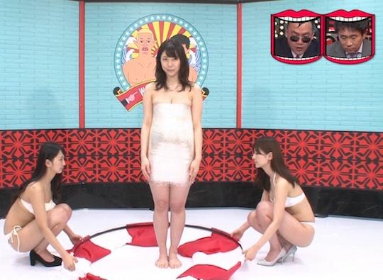 fumina suzuki gravure busty idol model japanese television wednesdays downtown