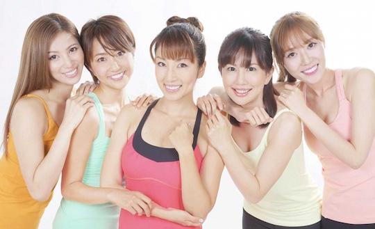 yuko shoji japan sexy yoga studio scandal gravure