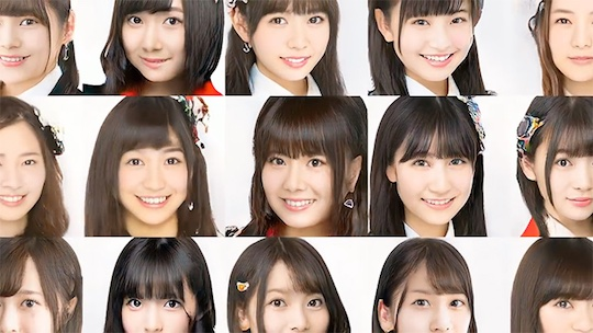 artificial intelligence computer graphics japan idols