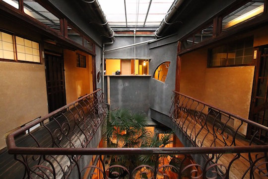 ichiraku ryokan hiroshima pleasure quarter inn hotel japan old showa